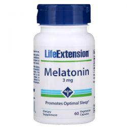 Life Extension, Melatonin, 3 mg, 60 Vegetarian Capsules Biografie, wspomnienia