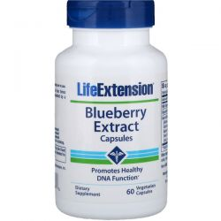 Life Extension, Blueberry Extract Capsules, 60 Vegetarian Capsules