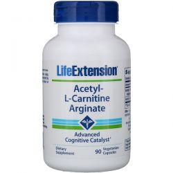 Life Extension, Acetyl-L-Carnitine Arginate, 90 Vegetarian Capsules Biografie, wspomnienia
