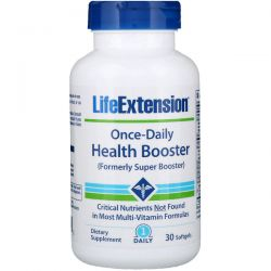 Life Extension, Once-Daily Health Booster, 30 Softgels Pozostałe