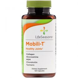 LifeSeasons, Mobili-T Healthy Joints, 120 Capsules Pozostałe