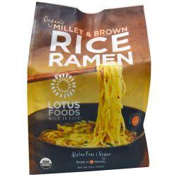 Lotus Foods, Organic Millet & Brown Rice Ramen, 4 Packs, 10 oz (283 g) Biografie, wspomnienia