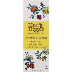 Mad Hippie Skin Care Products, Vitamin C Serum, 8 Actives, 1.02 fl oz (30 ml) Biografie, wspomnienia