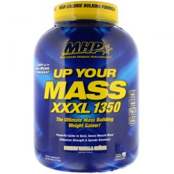 Maximum Human Performance, LLC, Up Your Mass, XXXL 1350, French Vanilla Creme, 6 lbs (2728 g)