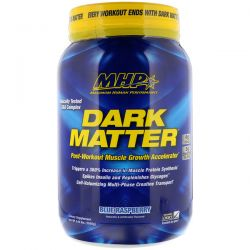 Maximum Human Performance, LLC, Dark Matter, Post-Workout Muscle Growth Accelerator, Blue Raspberry, 3.44 lbs (1560 g)	 Biografie, wspomnienia