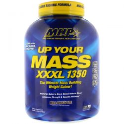 Maximum Human Performance, LLC, Up Your Mass, XXXL 1350, Milk Chocolate, 6.12 lbs (2780 g)