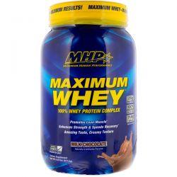 Maximum Human Performance, LLC, Maximum Whey, Milk Chocolate, 2.02 lbs (917.5 g)