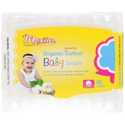Maxim Hygiene Products, Organic Cotton Baby Swabs, 50 Swabs Biografie, wspomnienia