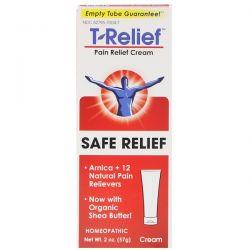 MediNatura, T-Relief, Safe Relief, Pain Relief Cream, 2 oz (57 g) Pozostałe
