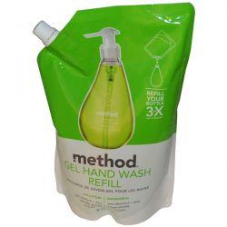 Method, Gel Hand Wash Refill, Cucumber, 34 fl oz (1 L) Biografie, wspomnienia