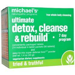 Michael's Naturopathic, Ultimate Detox, Cleanse & Rebuild, 7 Day Program