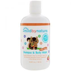 Mild By Nature, For Baby, Tear-Free Shampoo & Body Wash, Peach, 12.85 fl oz (380 ml) Biografie, wspomnienia