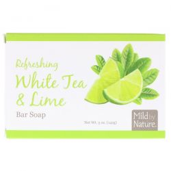 Mild By Nature, Refreshing Bar Soap, White Tea & Lime, 5 oz (141 g) Biografie, wspomnienia