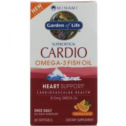 Minami Nutrition, Cardio Omega-3 Fish Oil, Orange Flavor, 60 Softgels Biografie, wspomnienia