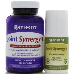 MRM, Joint Synergy+ Value Pack, 120 Capsules and 2 fl oz Roll-On Biografie, wspomnienia