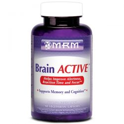 MRM, Brain Active, 90 Vegan Capsules Biografie, wspomnienia