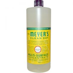 Mrs. Meyers Clean Day, Multi-Surface Concentrate, Honeysuckle Scent, 32 fl oz (946 ml) Biografie, wspomnienia