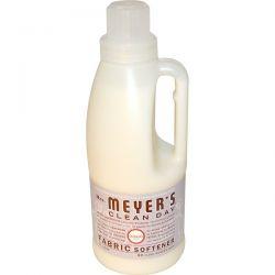 Mrs. Meyers Clean Day, Fabric Softener, Lavender Scent, 32 loads, 32 fl oz (946 ml) Biografie, wspomnienia