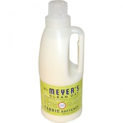 Mrs. Meyers Clean Day, Fabric Softener, Lemon Verbena Scent, 32 fl oz (946 ml) Pozostałe