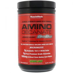 MuscleMeds, Amino Decanate, Citrus Lime, 13.5 oz (384 g)