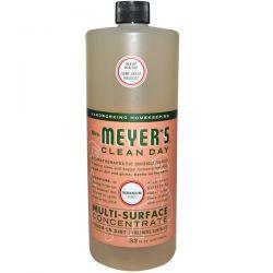 Mrs. Meyers Clean Day, Multi-Surface Concentrate, Geranium, 32 fl oz (946 ml) Biografie, wspomnienia