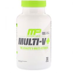 MusclePharm, Essentials, Multi-V+, The Athlete's Multi-Vitamin, 60 Tablets Pozostałe
