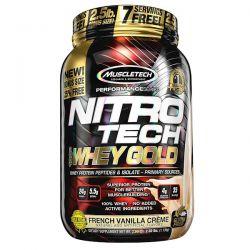Muscletech, Nitro Tech, 100% Whey Gold, French Vanilla Creme, 2.20 lbs (999 g) Biografie, wspomnienia