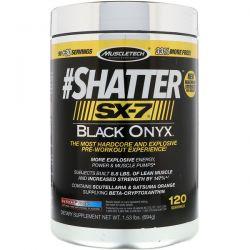 Muscletech, #Shatter SX-7 Black Onyx, Icy Rocket Freeze, 1.53 lb (694 g) Biografie, wspomnienia