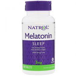 Natrol, Melatonin, 3 mg, 120 Tablets Biografie, wspomnienia