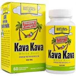 Natural Balance, Kava Kava White Root, 450 mg, 60 Veggie Caps