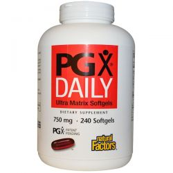 Natural Factors, PGX Daily, Ultra Matrix Softgels, 750 mg, 240 Softgels Biografie, wspomnienia