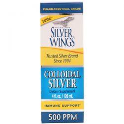 Natural Path Silver Wings, Colloidal Silver, 500 ppm, 4 fl oz (120 ml)