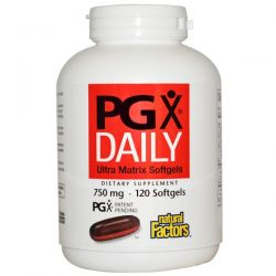 Natural Factors, PGX Daily, Ultra Matrix Softgels, 750 mg, 120 Softgels Biografie, wspomnienia