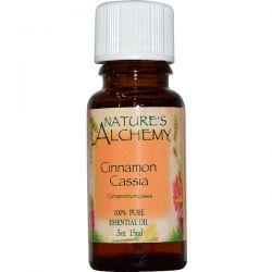 Nature's Alchemy, Cinnamon Cassia, Essential Oil, .5 oz (15 ml) Biografie, wspomnienia