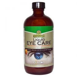 Nature's Answer, Liquid Eye Care, Natural Orange and Strawberry Flavors, 8 fl oz (240 ml) Pozostałe