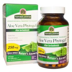 Nature's Answer, Aloe Vera Phytogel, 250 mg, 90 Vegetarian Capsules Biografie, wspomnienia