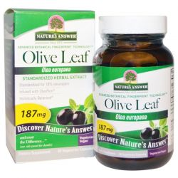 Nature's Answer, Olive Leaf, Standardized Herbal Extract, 187 mg, 60 Vegetarian Capsules Biografie, wspomnienia