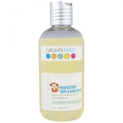 Nature's Baby Organics, Shampoo & Body Wash, Coconut Pineapple, 8 oz (236.5 ml) Biografie, wspomnienia