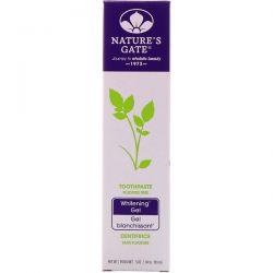 Nature's Gate, Whitening Gel Toothpaste, Fluoride Free, 5 oz (141 g) Pozostałe