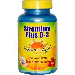 Nature's Life, Strontium Plus D-3, 60 Tablets Biografie, wspomnienia
