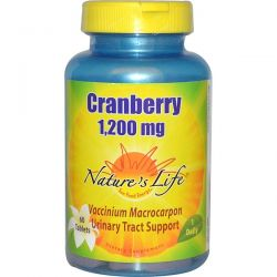 Nature's Life, Cranberry, 1,200 mg, 60 Tablets Biografie, wspomnienia