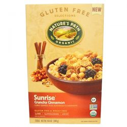 Nature's Path, Organic Sunrise Crunchy Cinnamon Cereal, 10.6 oz (300 g) Biografie, wspomnienia