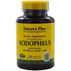 Nature's Plus, Acidophilus, Lactobacillus, 90 Veggie Caps Pozostałe