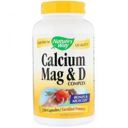 Nature's Way, Calcium Mag & D Complex, 250 Capsules Biografie, wspomnienia