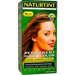 Naturtint, Permanent Hair Color, 7N Hazelnut Blonde, 5.28 fl oz (150 ml) Pozostałe