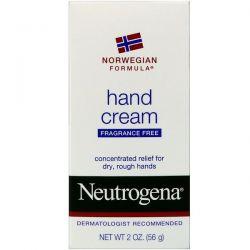 Neutrogena, Hand Cream, Fragrance Free, 2 oz (56 g) Biografie, wspomnienia