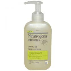 Neutrogena, Neutrogena, Naturals, Purifying Facial Cleanser, 6 fl oz (177 ml)