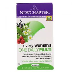 New Chapter, Every Woman's One Daily Multi, 48 Tablets
