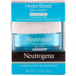 Neutrogena, Hydro Boost, Gel-Cream, Extra-Dry Skin, Fragrance-Free, 1.7 oz (48 g) Biografie, wspomnienia