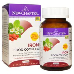New Chapter, Iron, Food Complex, 60 Tablets